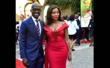 FILE: Former Finance Minister Malusi Gigaba and wife Norma arrive at the State of the Nation Address 2018 in Parliament, Cape Town. Picture: GCIS.