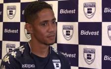 Steven Pienaar unveiled as a Bidvest Wits football player. Picture: Kgothatso Mogale/EWN
