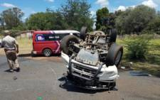 FILE: An accident scene. Picture: Twitter
