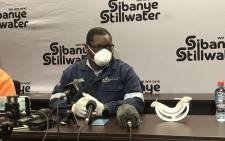 Gauteng Premier David Makhura briefs the media following a meeting with Sibanye-Stillwater representatives on 27 May 2020. Picture: Kgomotso Modise/EWN