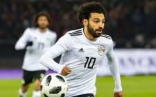 Egyptian forward Mohamed Salah. Picture: @MoSalah/Twitter