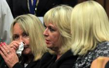 June Steenkamp says she attended court because she wanted Oscar Pistorius to acknowledge her presence. Picture: Pool.