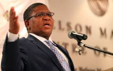 FILE: Minister of Sports and Recreation Fikile Mbalula. Picture: Sebabatso Mosamo/EWN.