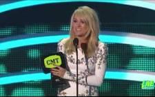 Carrie Underwood won three CMT Music Awards. Screen grab: CNN