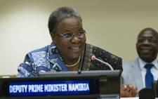 FILE: Deputy Prime Minister of the Republic of Namibia Netumbo Nandi-Ndaitwah. Picture: United Nations Photo.
