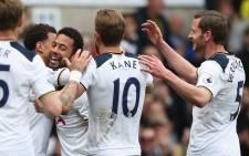 Harry Kane wrapped up Tottenham's seventh successive league win after 48 minutes. Picture: Twitter @JanVertonghen