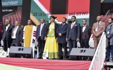 FILE: Deputy President David Mabuza addressed the National Prayer Day service at Johannesburg's Ellis Park Stadium on 18 August 2018. Picture: Twitter/ @PresidencyZA