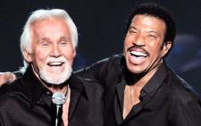 Lionel Richie and the late Kenny Rogers. Picture: Lionel Richie/Facebook.