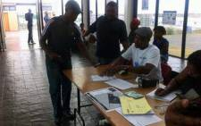 FILE: IEC officials say about 100 people have registered at Mew Way Hall in Khayelitsha so far. Picture: Siyabonga Sesant/EWN.