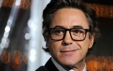 Robert Downey Jr is the highest-paid actor for 2012/13. Picture: AFP.