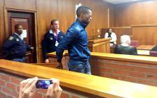 FILE: Sizwezakhe Vumazonke appears before the Port Elizabeth Magistrates Court for his role in the murder of Jayde Panayiotou. Picture: Siyabonga Sesant/EWN
