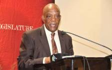 FILE: North West Premier Job Mokgoro. Picture: Facebook/ North West Provincial Legislature.