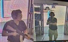 FILE: This CCTV image obtained by KTSM 9 news channel shows the gunman identified as Patrick Crusius as he enters the Cielo Vista Walmart store in El Paso on 3 August 2019. Picture: AFP.