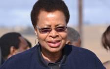 Graca Machel, the wife of former president Nelson Mandela. Picture: Aletta Gardner/EWN