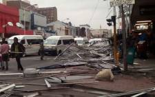 One person died when Gayle force winds swept through Durban. Picture: Supplied.