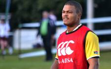 Springbok and Western Province centre Juan de Jongh during a training session in Cape Town. Picture: Aletta Gardner/EWN
