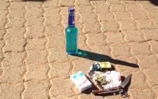 School raid. Picture: Jacob Moshokoa/EWN