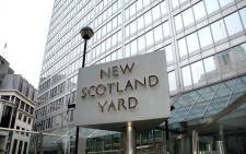 New Scotland Yard in central London. Picture: Official New Scotland Yard Facebook page.