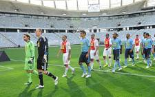 Ajax Cape Town show off their new kit on 2 August 2011. Picture: Supplied