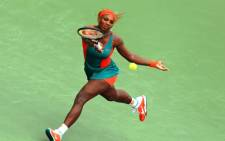 American professional tennis player Serena Williams. Picture: AFP.