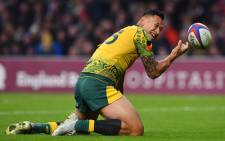 FILE: Wallabies fullback Israel Folau. Picture: AFP