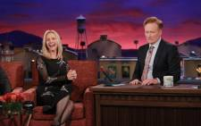 Lisa Kudrow recently appeared on Late Night with Conan O'Brien. Picture: Twitter/@LisaKudrow