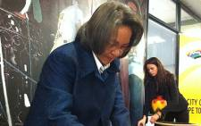 Cape Town mayor, Patricia de Lille.