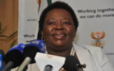 Acting Cabinet Spokesperson Phumla Willams Willams addressing a media briefing in Pretoria on the Cabinet's ordinary meeting held in Cape Town on the 19th September. Picture: GCIS.
