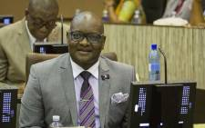 Gauteng Premier David Makhura speaking at the Gauteng Legislature on 26 February 2018.  Picture: Sethembiso Zulu/EWN