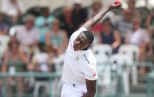 Proteas' Kagiso Rabada during the Test against England in January 2016. Picture: @OfficialCSA.