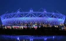 The Olympic Stadium. Picture: AFP