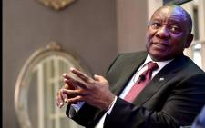 President Cyril Ramaphosa participating in a dialogue with Colin Coleman, Goldman Sachs' Sub-Saharan Africa's Chief Executive Officer, at the Goldman Sachs' investor conference at the Four Seasons Hotel, The Westcliff in Johannesburg. Picture: GCIS.