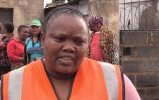 Gauteng Community Safety MEC Sizakele Nkosi-Malobane. Picture: EWN