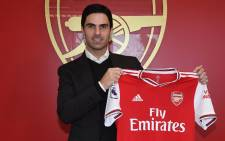 Arsenal manager Mikel Arteta. Picture: @Arsenal/Twitter