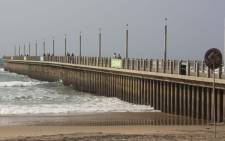 Durban north beach. Picture: Christa Eybers/EWN.