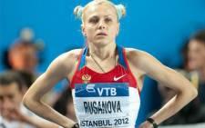 FILE: Yuliya Stepanova during 2012 IAAF World Indoor Championships in Istanbul. Erik van Leeuwen/Wikimedia Commons.