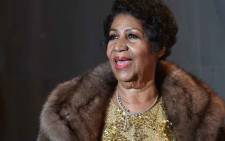 FILE: In this file photo taken on December 7, 2015 singer Aretha Franklin poses on the red carpet before the 38th Annual Kennedy Center Honors in Washington, DC. Picture: AFP