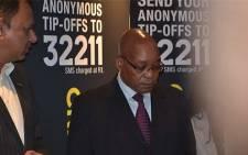 President Jacob Zuma at Primedia Broadcasting's studios on 23 July 2012. Picture: Sheldon Morais/EWN