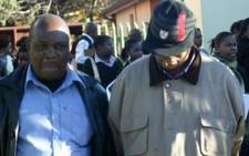 Two Home Affairs officials arrested at the Krugersdorp department on 14 July 2009. Picture: Nomsa Maseko/Eyewitness News