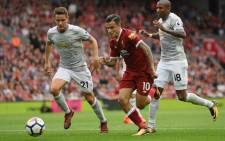 A cautious Manchester United frustrated Liverpool as a lacklustre North-West derby ended 0-0 at Anfield on Saturday. Picture: @LFC/Twitter.