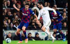 Real Madrid and Barcelona drew 0-0 on 18 December 2019 in the El Clasico. Picture: @FCBarcelona/Twitter.
