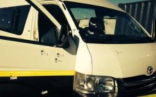 A man was killed en route from Khayelitsha to Delft on Thursday 4 October 2013 due to taxi violence between rival associations. Picture: Lauren Isaacs/EWN