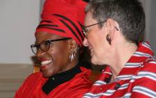 Reverend Mpho Tutu wed Professor Marceline Furth in the Netherlands. Picture: Desmond & Leah Tutu Legacy Foundation.