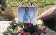 A memorial service takes place on 7 April 2019 in Eerste River for 22-month-old Orderick Lucas, whose body was found in a drain metres from his family home. The boy disappeared in March. Picture: Shamiela Fisher/EWN