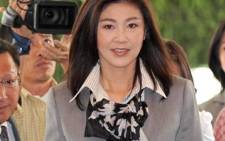 Yingluck Shinawatra became Thailand's first female prime minister following her party's landslide victory on 3 July 2011. AFP