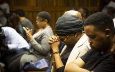 Lerato Sengadi during proceedings at the Johannesburg High Court on 2 November 2018. Picture: Kayleen Morgan/EWN