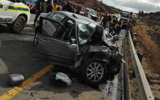 The vehicles collided on the collided R617 outside of Boston in KwaZulu-Natal. Picture: @ER24EMS.