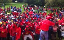 FILE. Numsa is undeterred by threats of mass dismissals over its planned strike for wage hikes next month. Picture: Zikhona Miso/EWN