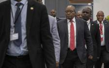 Former President Jacob Zuma at state capture commission on 15 July 2019. Picture: Abigail Javier/EWN