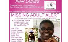 FILE: Charlotte Nikoi was last seen on 21 March. Picture: Facebook.com.